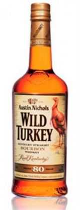 Wild Turkey Bourbon 80 Proof